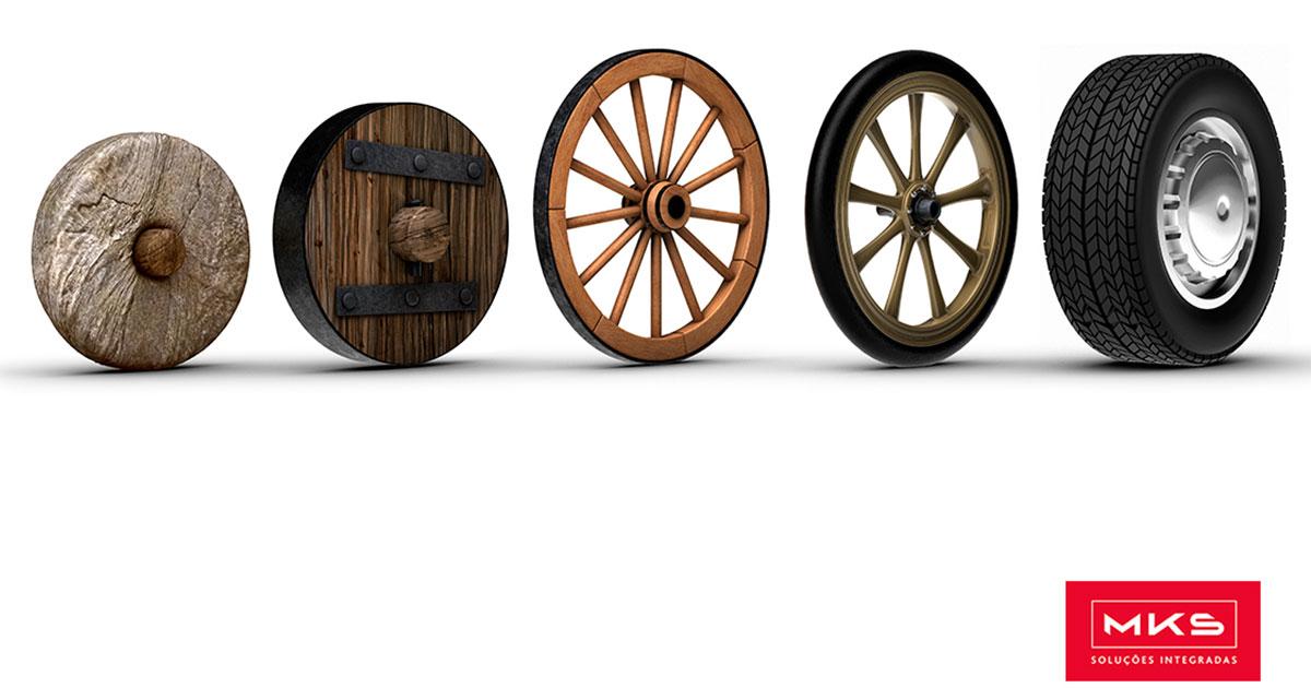 A roda e o eixo – Uma dupla simples e poderosa
